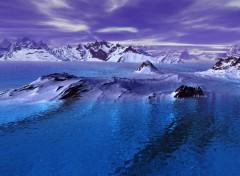 Fonds d'écran Art - Numérique antartique