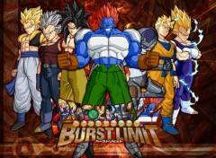 Wallpapers Manga Dragon ball z burst limit