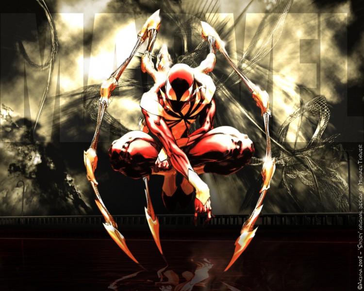 Fonds d'écran Comics et BDs Civil War CIVIL WAR: Spiderman stuffed by Stark Industries