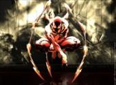 Fonds d'écran Comics et BDs CIVIL WAR: Spiderman stuffed by Stark Industries