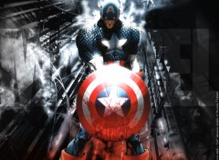 Wallpapers Comics CIVIL WAR: Captain America maximum charged
