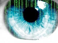 Fonds d'écran Art - Numérique oeil matrix