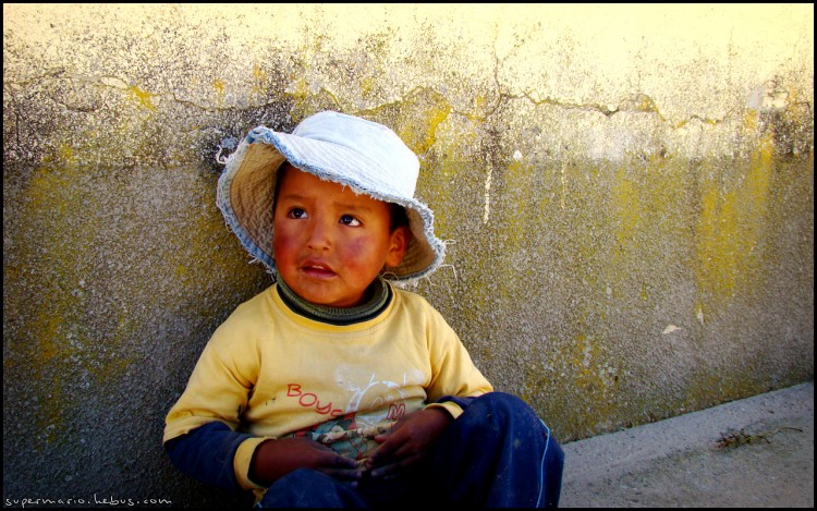 Wallpapers Trips : South America Bolivia Enfant bolivien