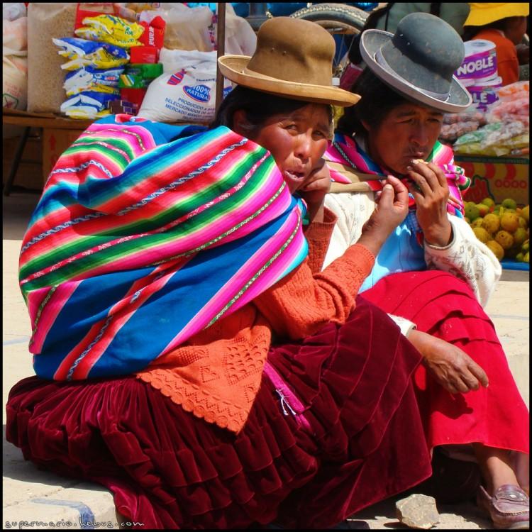 Wallpapers Trips : South America Bolivia Vieilles boliviennes