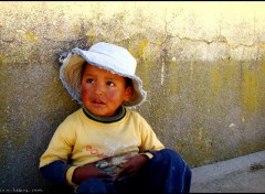 Wallpapers Trips : South America Enfant bolivien