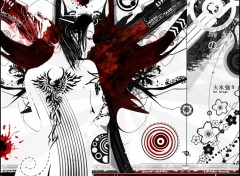 Wallpapers Digital Art Geisha Style