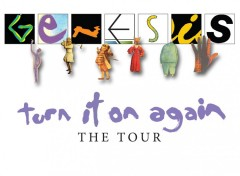 Wallpapers Music genesis turn it on again the tour