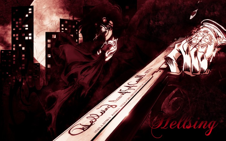 Fonds d'écran Manga Hellsing wall 1440*900 hellsing