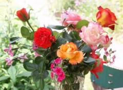 Fonds d'écran Nature Bouquet de fleurs