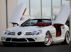Fonds d'écran Voitures Brabus Mercedes-Benz SLR Roadster (2008)