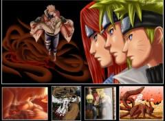 Fonds d'écran Manga la famillle uzumaki