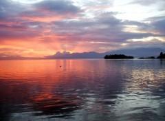 Fonds d'écran Voyages : Asie Couché de soleil
