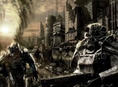 Fonds d'écran Jeux Vidéo Fallout 3 - The Brotherhood Of Steel