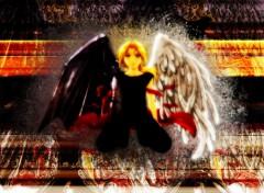 Fonds d'écran Manga Full Metal ange