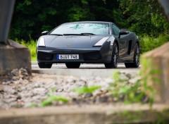 Fonds d'écran Voitures Lamborghini Gallardo SLE Edo Competition (2008)