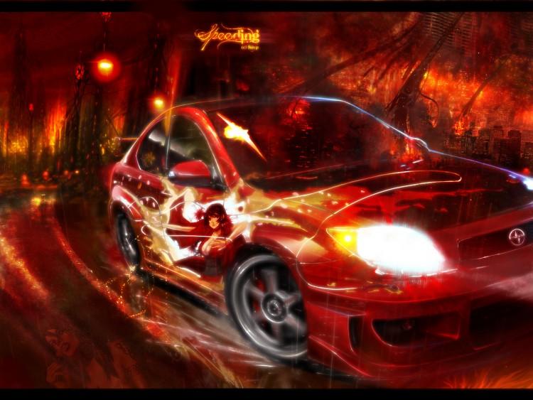 Fonds d'écran Art - Numérique Style Urbain Speeding