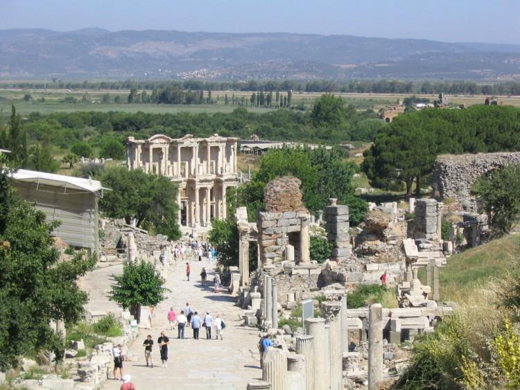 Fonds d'écran Voyages : Asie Turquie Vue d'Ephèse