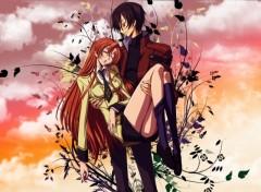 Fonds d'écran Manga lulu et shirley