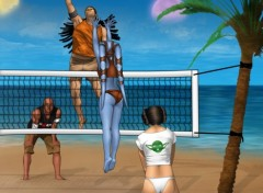 Wallpapers Fantasy and Science Fiction starwars summer volleyball