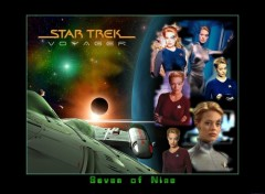 Fonds d'écran Séries TV Seven of nine