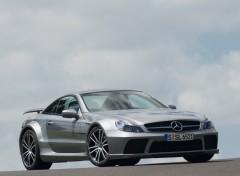 Fonds d'écran Voitures Mercedes-Benz SL 65 AMG Black Series (2009)