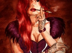 Wallpapers Art - Painting Femme Fatale
