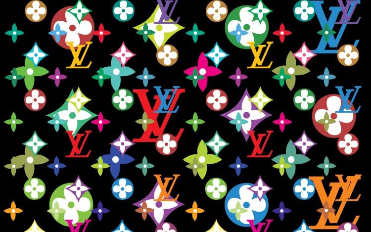 Fonds d'écran Grandes marques et publicité Vuitton summer flower