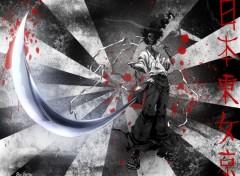 Fonds d'écran Manga Black&BloOd
