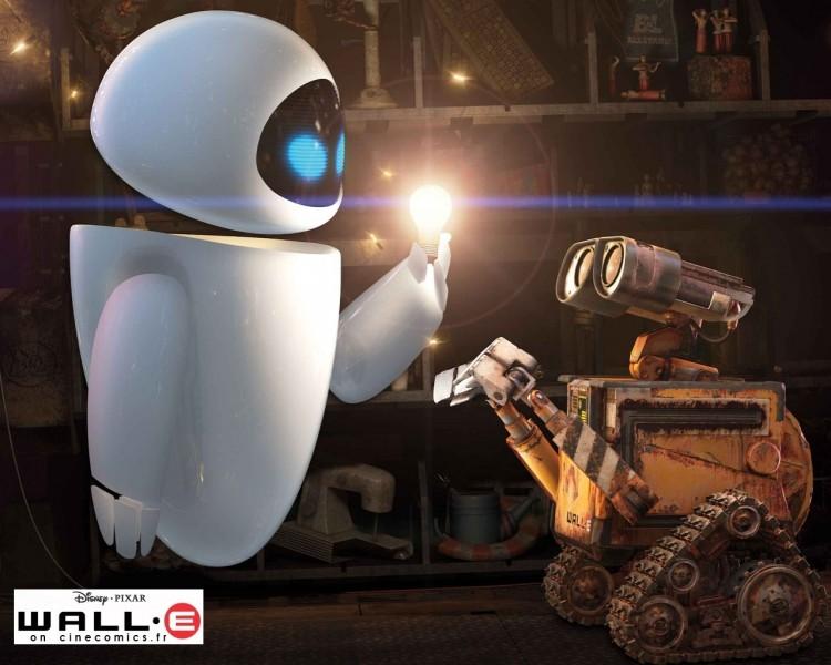 Fonds d'écran Dessins Animés Wall-E Wall-E le nouveau robot de Pixar