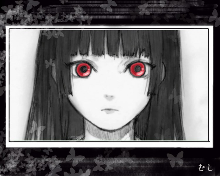 Wallpapers Manga Jigôku shôjo Enma Ai