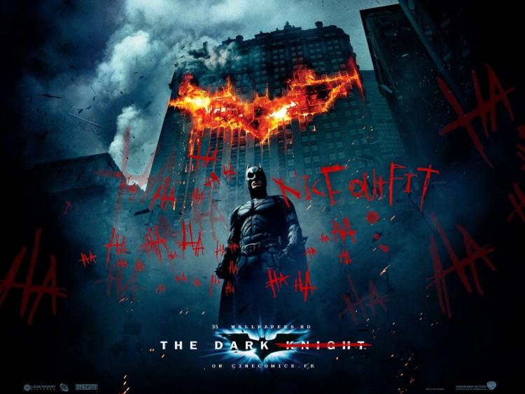 Fonds d'écran Cinéma Batman - The Dark Knight Batman the dark Knight: Signé le Joker