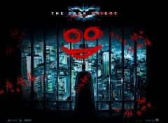Fonds d'écran Cinéma Batman the dark Knight: Signé le Joker
