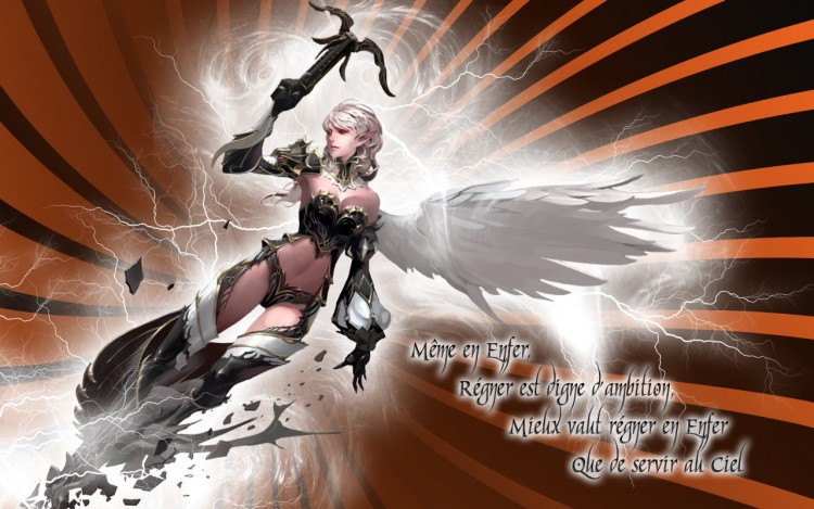 Wallpapers Fantasy and Science Fiction Angels Demon Warriors