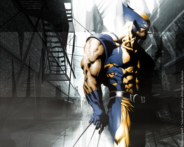 Fonds d'écran Comics et BDs Civil War CIVIL WAR: Wolverine ' UrbaN ProoF '