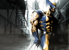 Fonds d'écran Comics et BDs CIVIL WAR: Wolverine ' UrbaN ProoF '