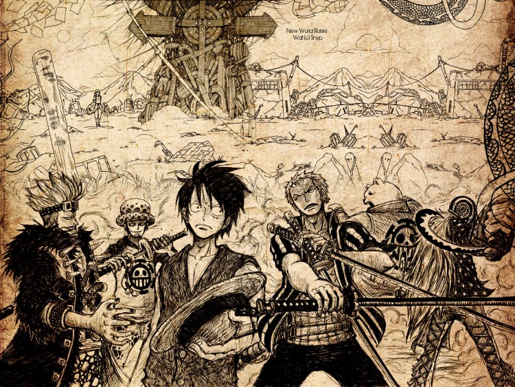 Wallpapers Manga One Piece New World Rulers