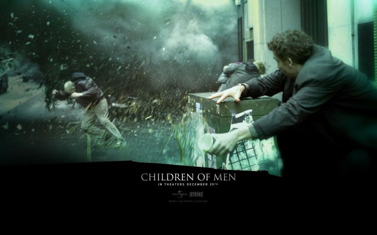 Fonds d'écran Cinéma Les Fils de l'Homme Wallpaper N°208763