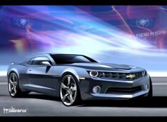 Fonds d'écran Voitures Chevrolet-Camaro-RS