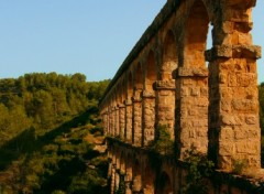 Wallpapers Constructions and architecture Aqueduc près de Tarragone