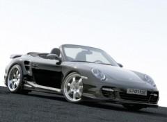 Fonds d'écran Voitures Porsche 911 Turbo Convertible Sportec SP 600