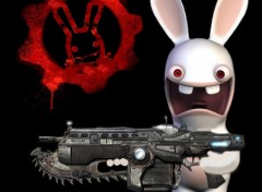 Wallpapers Digital Art gear of bunny