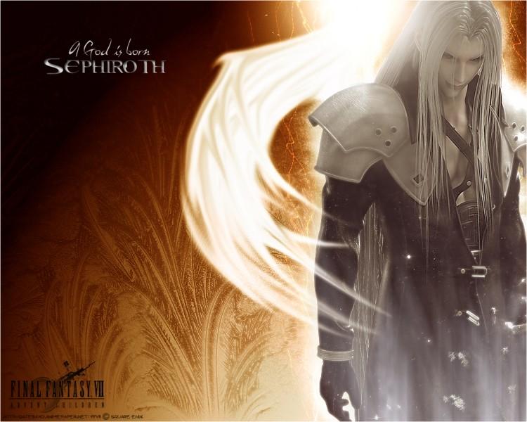 Fonds d'écran Jeux Vidéo Final Fantasy Advent Children Sephiroth