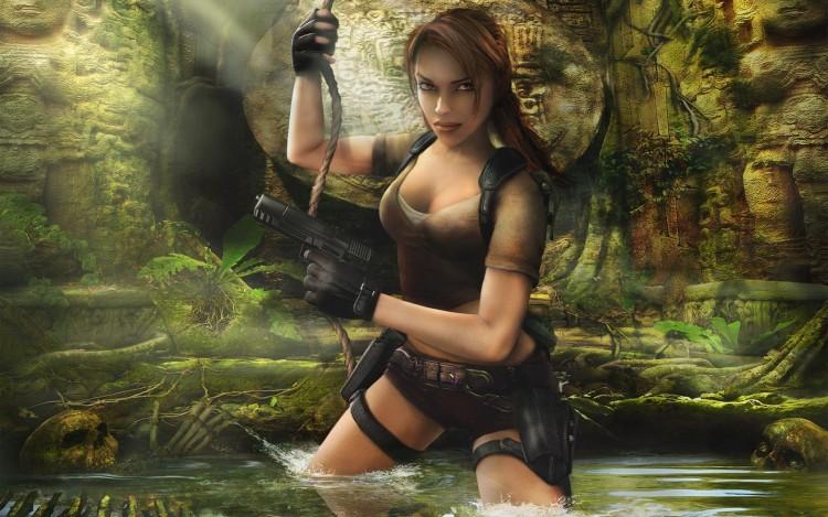 Fonds d'écran Jeux Vidéo Tomb Raider : Legend Tomb Raider Legend