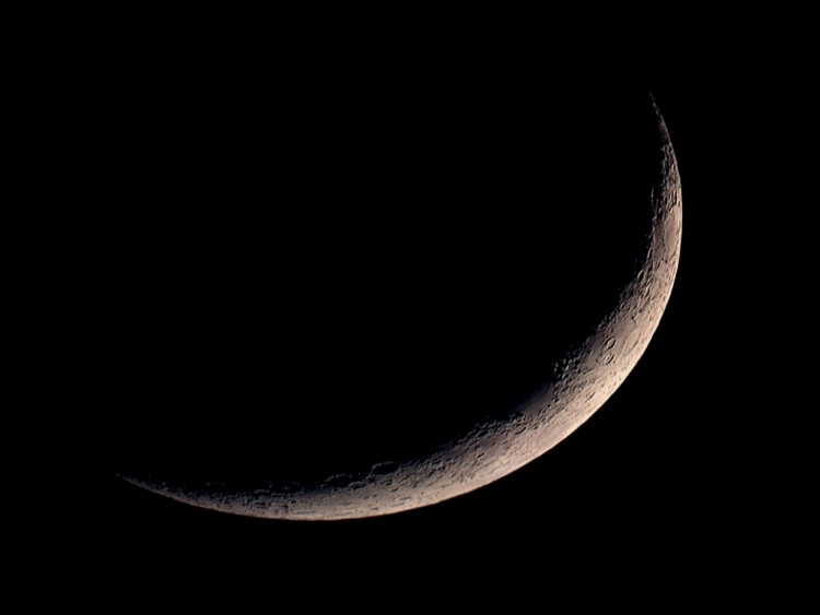 Fonds d'écran Espace Lune Croissant
