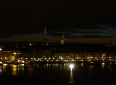 Fonds d'écran Voyages : Europe stokholm by night