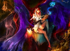 Wallpapers Fantasy and Science Fiction Hollow Witch