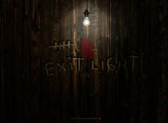 Fonds d'écran Art - Numérique Exit Light