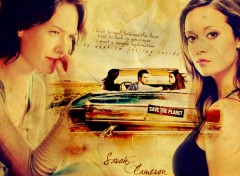 Wallpapers TV Soaps Sarah/Cameron
