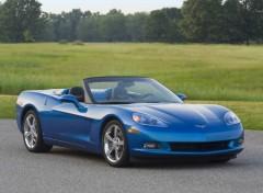Fonds d'écran Voitures Chevrolet Corvette Convertible (2009)