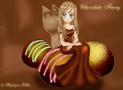 Wallpapers Fantasy and Science Fiction Chocolate Faery